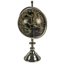 World Globe on Aluminium Stand