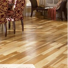 "Character 3-1/4"" Engineered Hickory Hardwood Flooring in Natural"