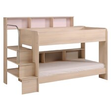 Bibop 2 Twin Over Twin Bunk  Bed with Trundle