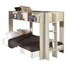 Team Twin Over Full Bunk  Bed
