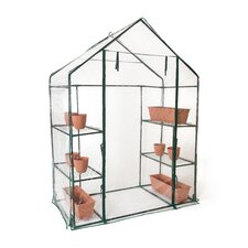 2.4 Ft. W x 4.7 Ft. D Greenhouse