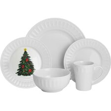 Radiant 20 Piece Dinnerware Set, Service for 4