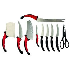10-tlg. Messerset Contour Pro Knives
