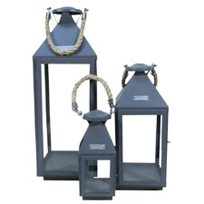 Living Style 3 Piece Lantern Set