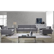 Angela Sofa, Loveseat and Chair Set by Container