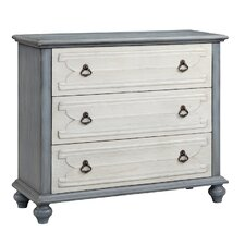 Louviere 3 Drawer Accent Chest by One Allium Way