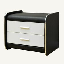 2 Drawer Nightstand by Greatime