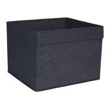 Basic Open Storage Bin with Pocket Handle