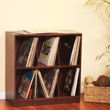 LP Record Tabletop Storage