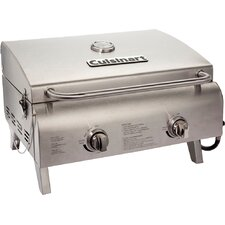 """18.3"""" Chef's Style Tabletop Gas Grill"""
