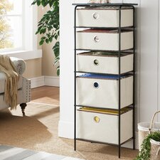 Gloria 5 Tier Storage Cabinet by Zipcode Design