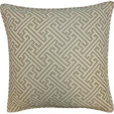 Wave Maze Outdoor Throw Pillow