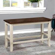 Marilou Wood Dining Bench by August Grove