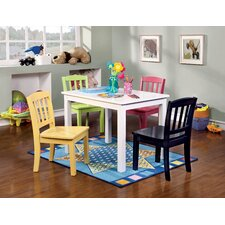 Katie 5 Piece Rectangle Table and Chair Set