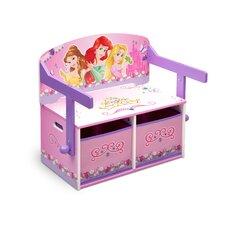 Princess Toy Storage Bench