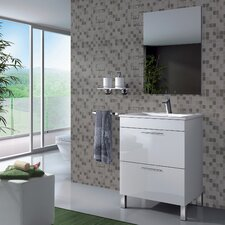 Althea 60cm Vanity Unit With Mirror and Storage Cabinet