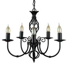 Memphis 5 Light Candle Chandelier