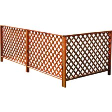 1.2m x 0.9m Ancona Extension Element Garden Fence