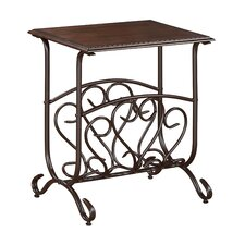 Glenwood Chairside Table by Crown Mark