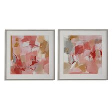 Thoroughly Modern 'Strawberry Dreams' Framed Painting Print