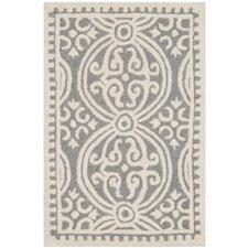 Landen Silver/Ivory Area Rug