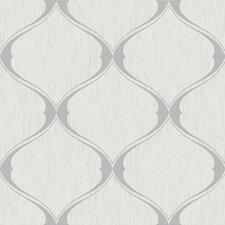 Olsene 33' x 20'' Trellis 3D Embossed Wallpaper Roll