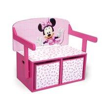 Minnie Toy Storage Bench