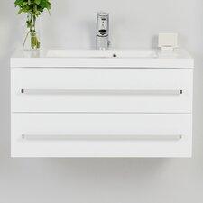 80 cm Wandbefestigter Waschbeckenunterschrank Alatna