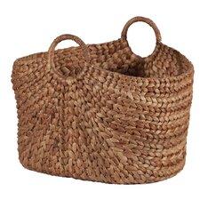 Water Hyacinth Oval Basket