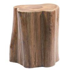 Teak Wood Tree Section Stool by Ibolili