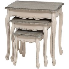 Manor House 3 Piece Nest of Tables