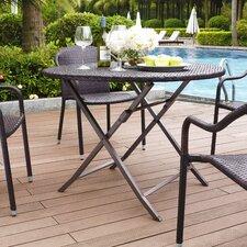 Belton Outdoor Wicker Dining Table