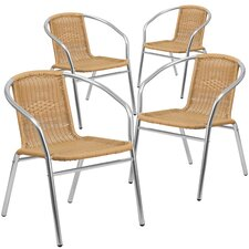 Stacking Dining Arm Chair (Set of 4)