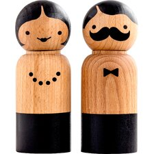 Mr and Mrs Salt and Pepper Set