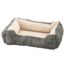 Corduroy Orthopedic Cuddler Dog Bed
