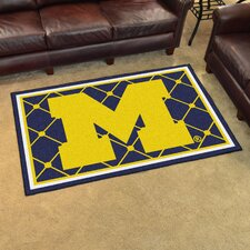 NCAA University of Michigan Rug