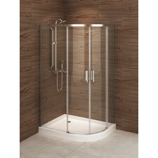 Madrid 48 x 36 x 77 Sliding Shower Enclosure by A&E Bath and Shower