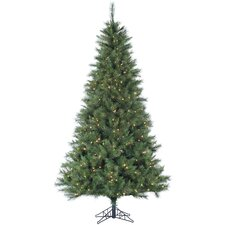 Canyon Pine 10' Green Artificial Christmas Tree with 1250 Smart String Lighting with Stand