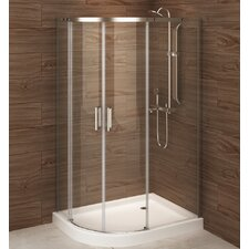 Madrid 48 x 36 x 77 Sliding Shower Enclosure by A&E Bath and Shower