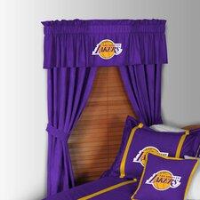 NBA Los Angeles Lakers Rod Pocket Window Treatment Set (Set of 2)