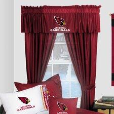 NFL Arizona Cardinals Window Treatment Set (Set of 2)