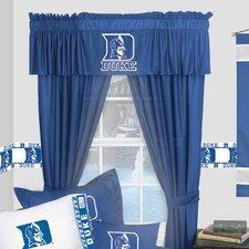 NCAA Duke Devils Rod Pocket Window Treatment Set (Set of 2)