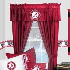 NCAA Alabama Crimson Tide Rod Pocket Window Treatment Set (Set of 2)