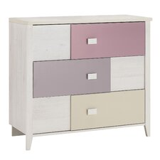 Charly 3 Drawer Chest of Drawers