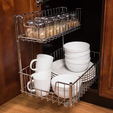 Sliding Undersink Organizer (Set of 2)
