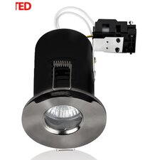Domed Bezel 8.6cm Recessed Retrofit Downlight Recessed Kit (Set of 4)