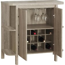 Guffey Bar with Wine Storage