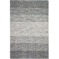 Zen Hand-Woven Black/Gray Area Rug