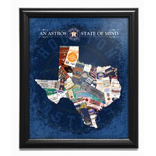 'Texas State of Mind' Framed Wall Art