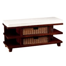 Campos Upholstered Storage Entryway Bench by Darby Home Co